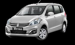 Suzuki Ertiga Diesel Hybrid Silky Silver Metallic